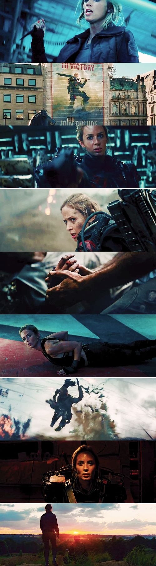Maybe tomorrow The sun might never shine, and this might spell the end, to all mankind. Maybe tomorrow Dreams might just come true, everyone will have someone, and I will have you. Maybe tomorrow. #edgeoftomorrow