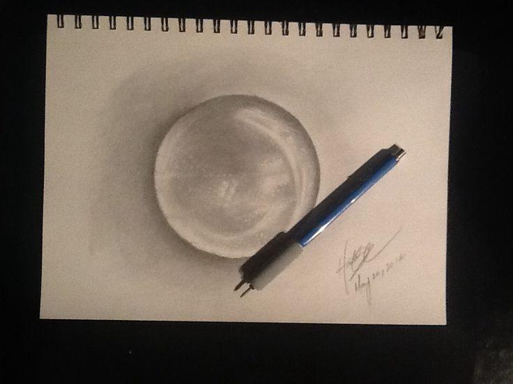 Water Drop: pencil