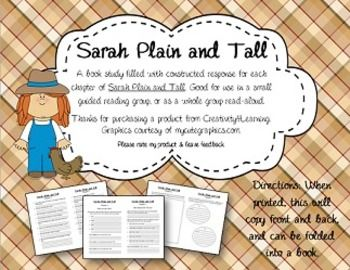 sarah plain and tall book study. Black Bedroom Furniture Sets. Home Design Ideas