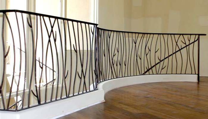 Best 25 wrought iron railings ideas on pinterest for Inside balcony railing