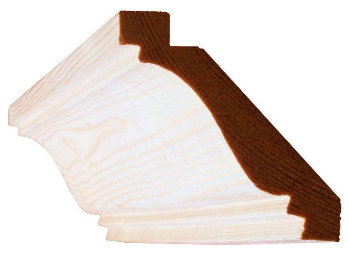 Krönlist och taklist furu - Sekelskifte - 113-450