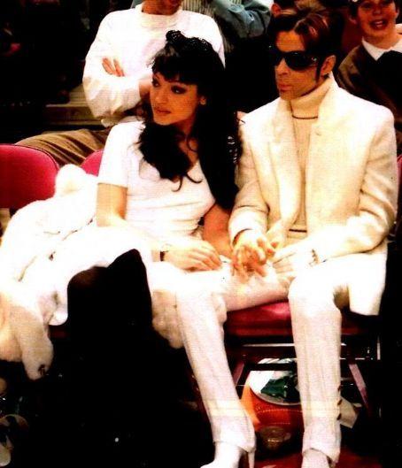 Prince and Mayte Garcia - 454 x 529