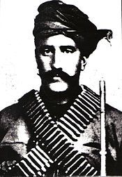 Serob Vartanian, more prominently known by his nom de guerre Aghbiur Serob (Armenian: Աղբյուր Սերոբ) or Serob Pasha (Սերոբ Փաշա, 1864 – 24 November 1899) born Serob Vardanian (Սերոբ Վարդանյան) was a famed Armenian military commander who organized a guerrilla network that fought against the Ottoman Empire during the latter part of the 19th century.