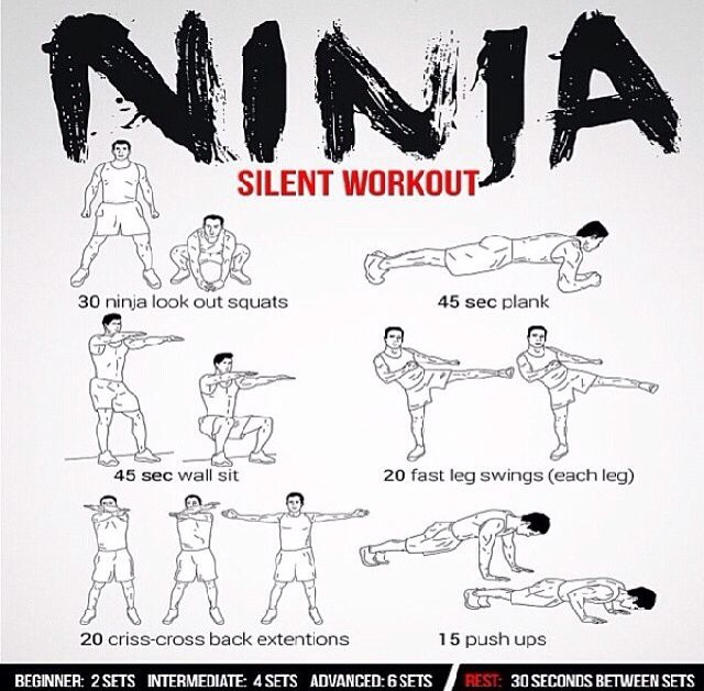Ninja workout ninja turtles pinterest