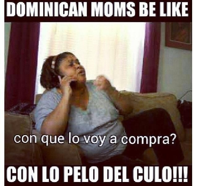 Dominicans be like.