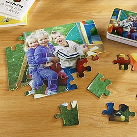 25 Piece Youth Photo Puzzle - just got this for my nieces 3rd birthday present.