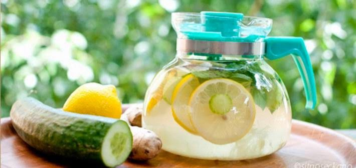 Agua Sassy - La bebida  más eficiente para la pérdida de peso que derretir la grasa - puede usted prepararla en casa