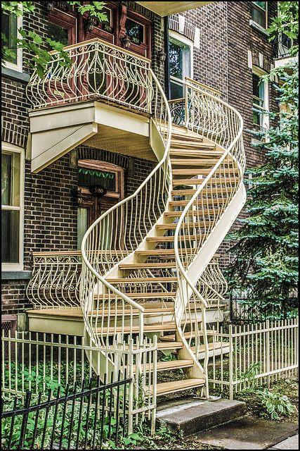 escaliers..de Montréal,,,