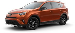 Toyota RAV4 Hybrid LE—$184 per month for 36 months with $2899 down