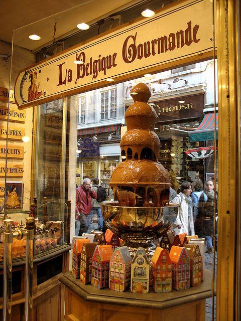 Chocolate store in Brussels La Belgique Gourmande #belgian