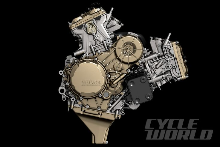 Ducati 1299 Panigale Superbike Engine