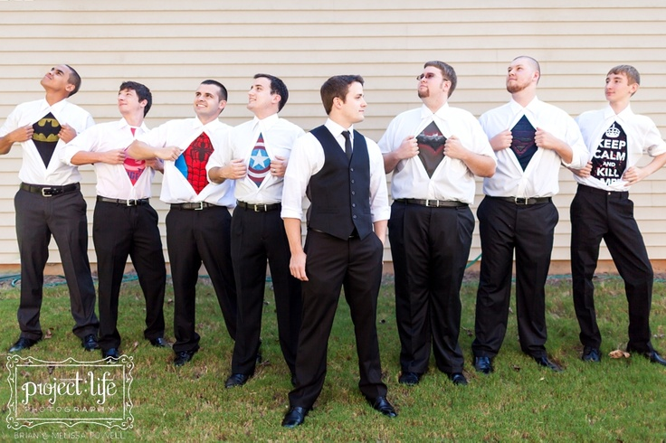 Love this idea for groomsmen picture! Project Life Photography » Charlotte Wedding Photographers | Brian & Melissa Powell