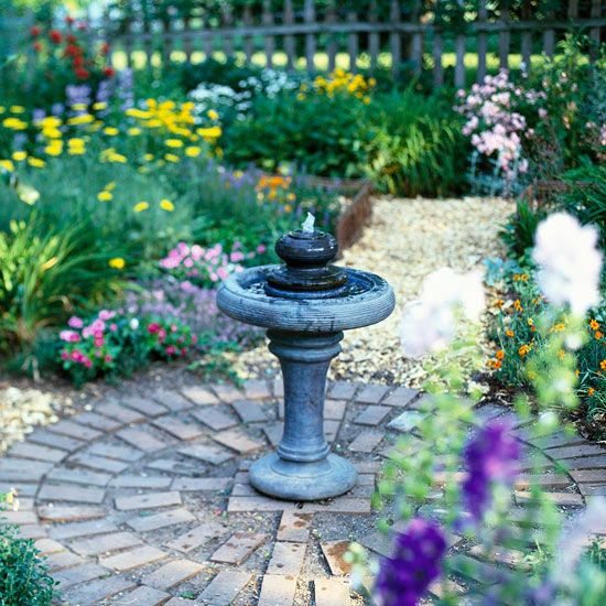 25 best fountain ideas on pinterest diy fountain the for Small backyard water features