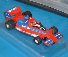OLD POLICAR POLISTIL CHAMPION 175 Brabham Alfa Romeo BT Slot car 79 cod A111 VGC