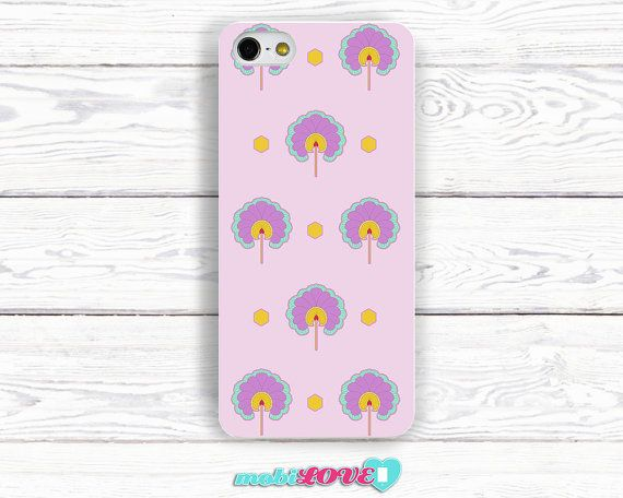 Hand Made Glamour Fan Pattern  Hard Case for Iphone by MobiLove, £10.00