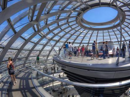 Reichstagskuppel ohne Anmeldung besuchen