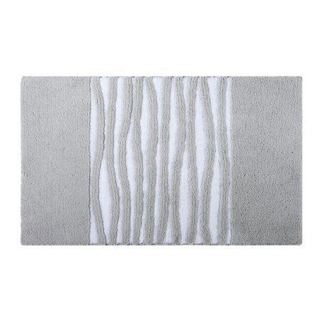 Aquanova – Morgan Badematte – Silbergrau – 60 x 100 cm