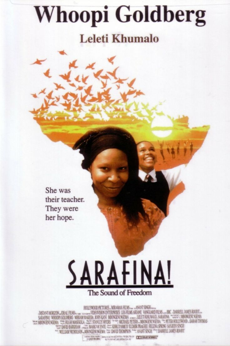 View the trailer on Vibescout. The story revolves around students involved in the opposition to the implementation of the Afrikaans language as the language of instruction in school, the Soweto Riots. Sarafina inspires her peers to rise up in protest against the implementation, especially after her inspirational teacher, Mary Masombuka is imprisoned. #vibescout #Southafricanmovies #sarafina
