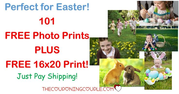 HOT FREEBIE! Get 101 FREE Photo Prints from Shutterfly PLUS get a FREE 16x20 print! Great for all those photos on your phone or computer, for scrapbooks, for sharing! GO NOW!  Click the link below to get all of the details ► http://www.thecouponingcouple.com/shutterfly-101-free-prints-just-pay-shipping/ #Coupons #Couponing #CouponCommunity  Visit us at http://www.thecouponingcouple.com for more great posts!