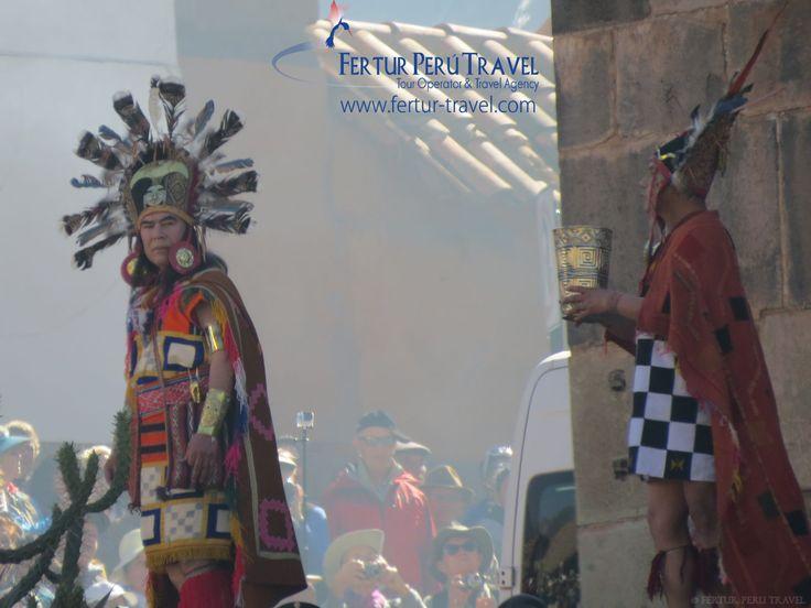 Qoricancha Inca astronomer-priests, a reenactment of the Inti Raymi.
