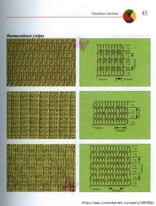 Crochet Stitches Visual Encyclopedia Free : Meer dan 1000 afbeeldingen over crochet patterns op Pinterest Gratis ...