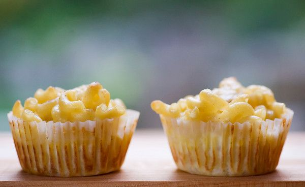 Macaroni and Cheese Cupcakes - Framed Cooks