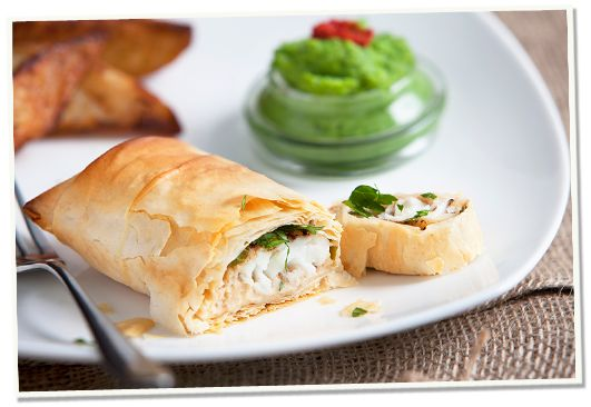 Try our mouth wateringly, tasty Spiced Monkfish en Croute, made using our Maclellan Salmon Pate. Perfect as a summer dish or an elegant dish with friends and family.