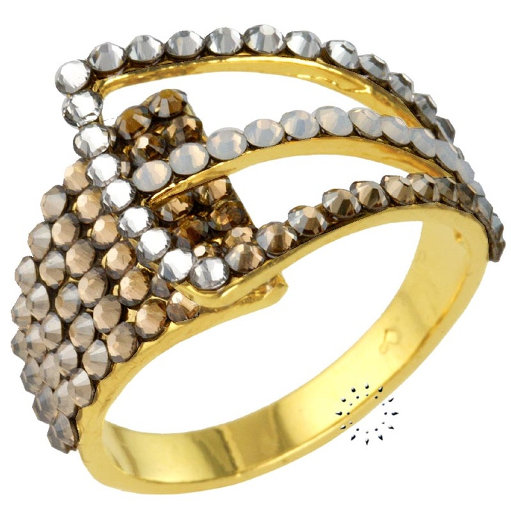 Δαχτυλίδι με Swarovski EKATERINI  65€  http://www.kosmima.gr/product_info.php?products_id=16072