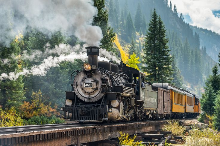 10 Train Rides in America to Take in Your Lifetime                                                                                                                                                                                 More