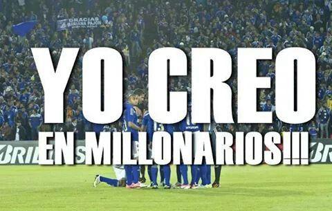 Yo creo en Millonarios