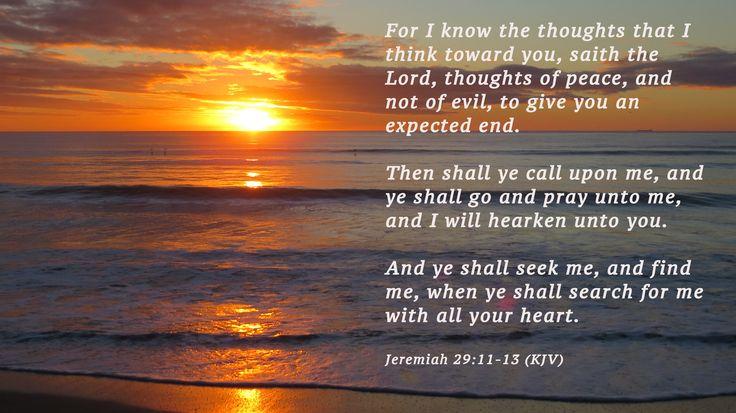 jeremiah 29 11 king james