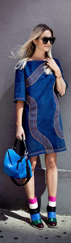Karen Walker Dress / Fashion By The Fashion Guitar