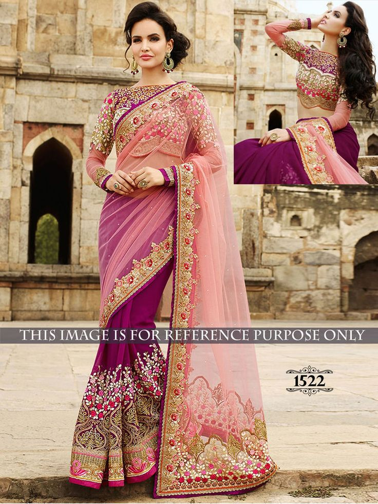 Indian Bollywood Saree Designer Lehenga Choli Party Sari Pakistani Women 1522 #StyleFashionHub #Saree
