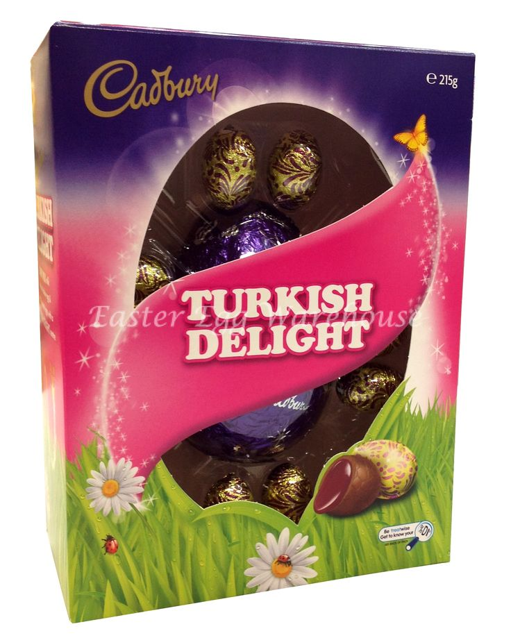 turkish delight easter bunny | 215g Cadbury Turkish Delight Gift Box