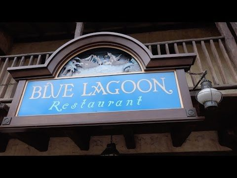 Blue Lagoon Restaurant review at Disneyland Paris - YouTube