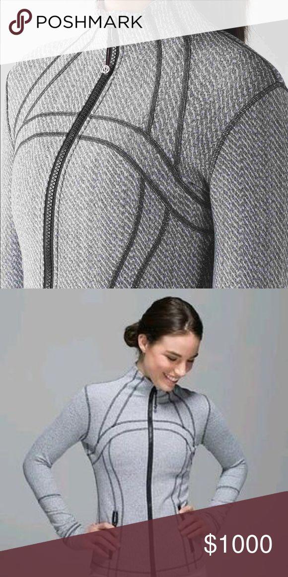 ISO Hazy Heather or Ghost Herringbone Jacket Define Jacket. In a size 2 please, those pictured. lululemon athletica Jackets & Coats