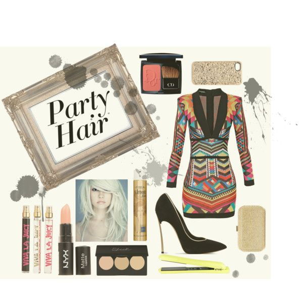 """""""Party Hair 2015"""" by louiseenorris on Polyvore"""