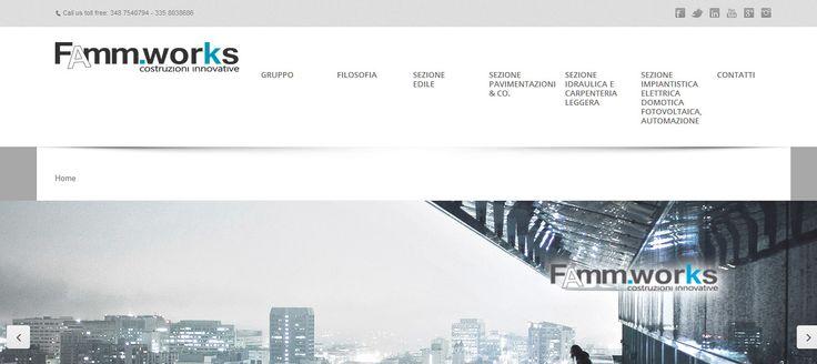 web site home