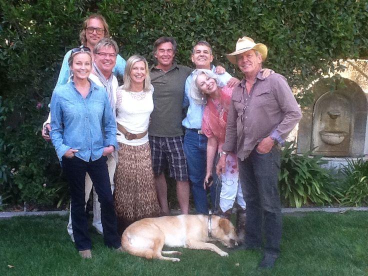 Jim and Nancy Chuda, Olivia Newton John & husband, Bo Derek and friends!