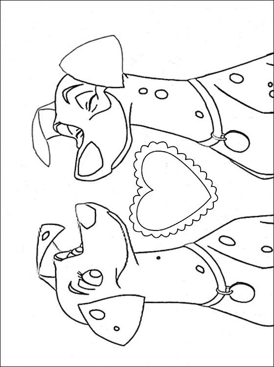 229 best 101 Dalmations coloring pages images on Pinterest | 101 ...