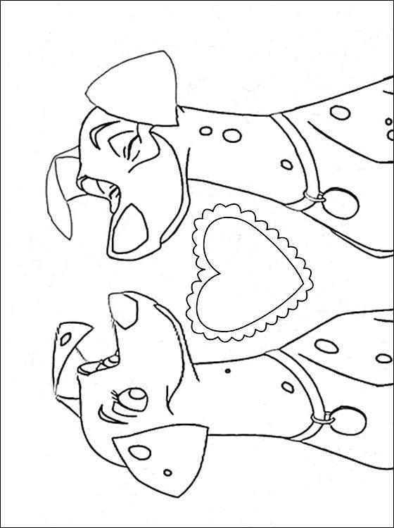 dalmatian coloring pages - photo#44