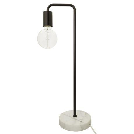 Metro Table Lamp 55cm  Black