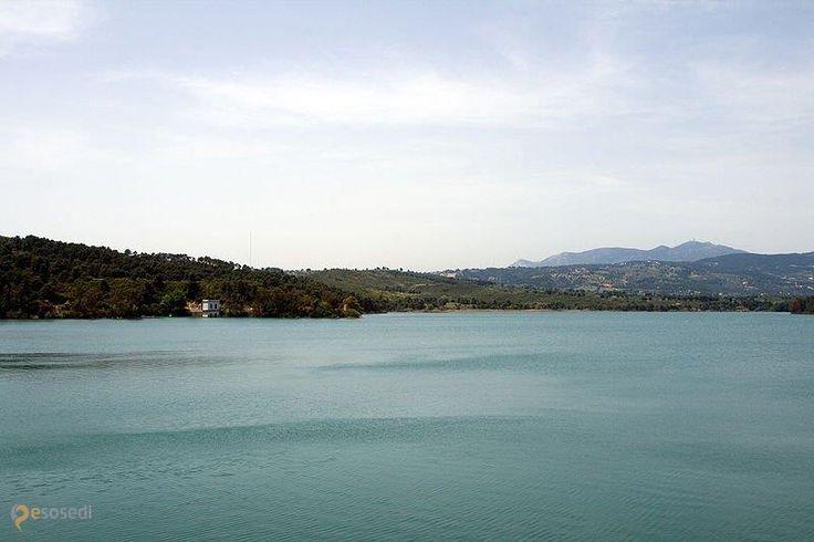 Марафонское водохранилище – #Греция #Аттика (#GR_I) Чем примечательно Марафонское озеро, или точнее водохранилище, помимо названия и соответствующего расположения? Тем, что здешняя плотина облицована тем же белым мрамором, что использовался при строительстве знаменитого Парфенона и других сооружений в афинском Акрополе.  ↳ http://ru.esosedi.org/GR/I/1000256827/marafonskoe_vodohranilische/