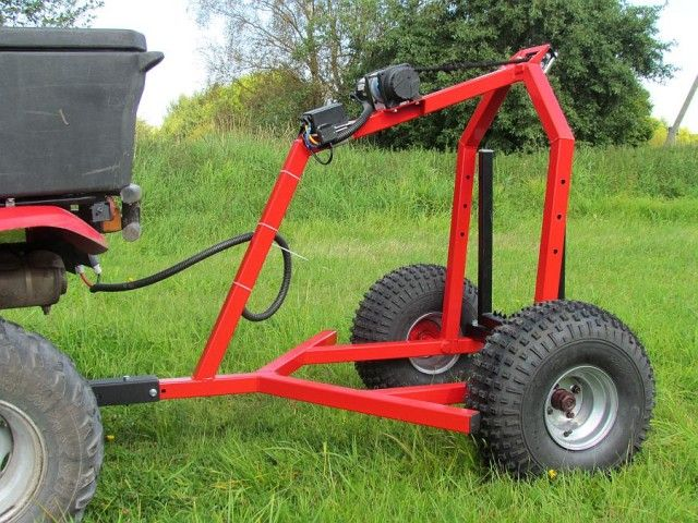 1000 Ideas About Lawn Mower Trailer On Pinterest Oven