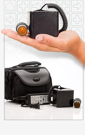 how to use cpap machine on battery