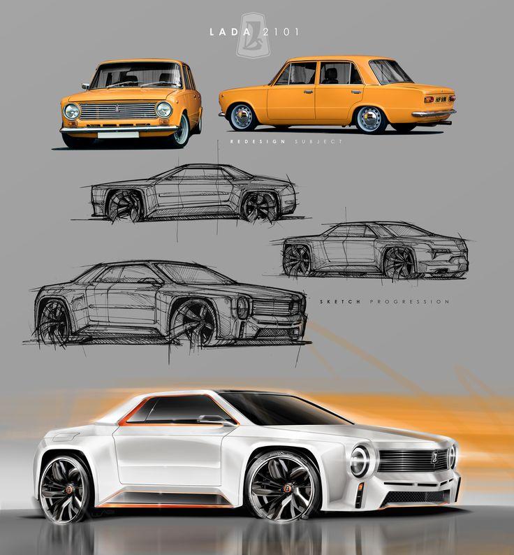 Lada 2101 Redesign