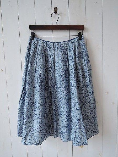 ミナペルホネン mina perhonen galileo スタープリントスカート