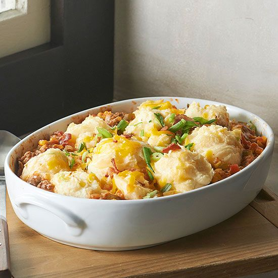 A new twist on shepherd's pie will leave you with a smile. This delicious meat and potato pie recipe is versatile to mix and match meat and veggies to create whatever savory pie recipe you want!