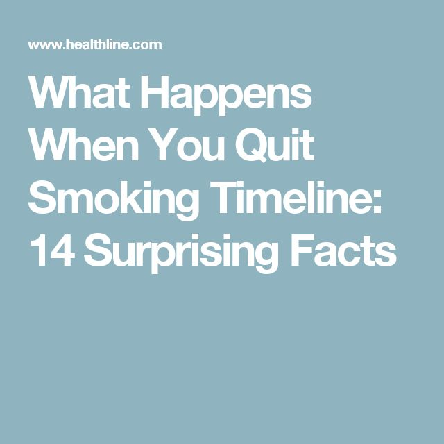 What Happens When You Quit Smoking Timeline: 14 Surprising Facts