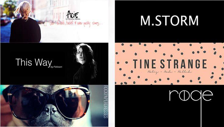 Besøg Stylistas bloggere | Stylista.dk